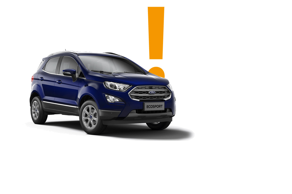 Ford Ecosport 2018 Background